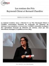 Lecture Zen - Les remises des Prix Raymond Chirat et Bernard